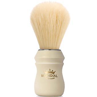 Mondial 1908 Boar Shaving Brush Faux Ivory