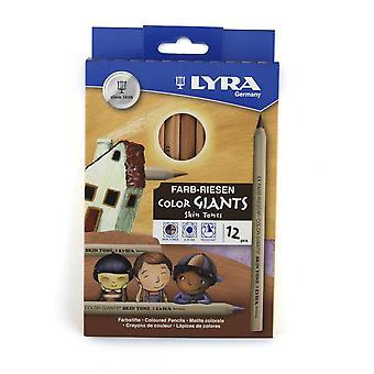 Pack de tons de pele Lyra de 12