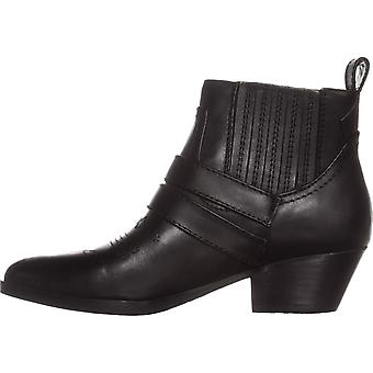 GUESS Womens Violla Pointed Toe Ankle Cowboy Boots