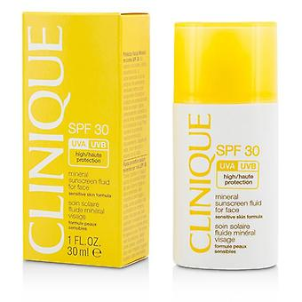 Clinique Mineral Sunscreen Fluid For Face SPF 30 - Sensitive Skin Formula - 30ml/1oz