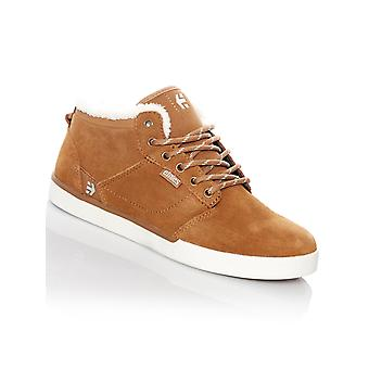 Etnies Brown Jefferson Mid Sherpa Lined Womens Hi Top Shoe