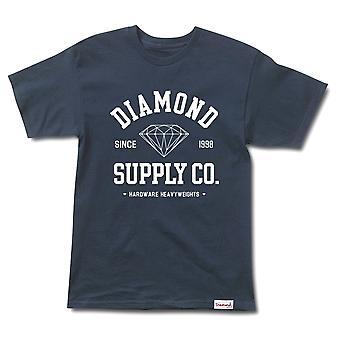 Diamond Supply Co Athletic T-shirt Navy