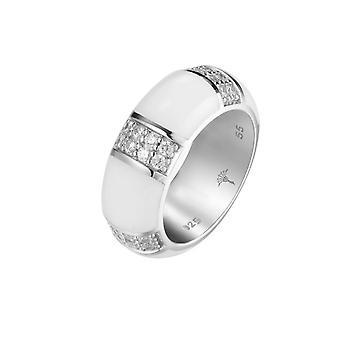 Joop kvinnors ring silver zirconia Amanda JPRG90713B
