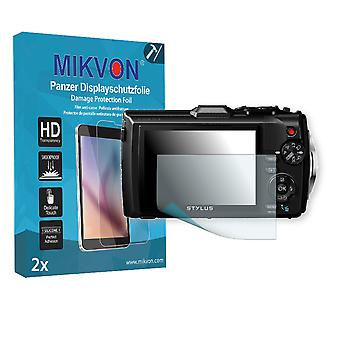 Olympus TG-4 Screen Protector - Mikvon Armor Screen Protector (Retail Package with accessories)