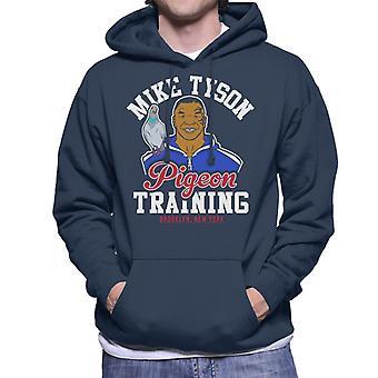 Mike Tyson Pigeon Training Men's Hooded Sweatshirt