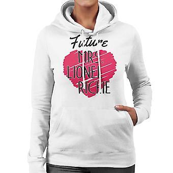 Zukunft Frau Lionel Richie Damen Sweatshirt mit Kapuze