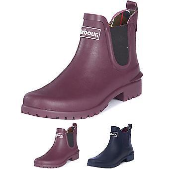 Womens Barbour Wilton Rubber Waterproof Winter Snow Flat Rain Wellingtons