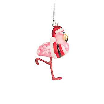 Sass and Belle Flamingo Christmas Bauble