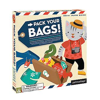 Petit Collage Pack Your Bags! Board Game