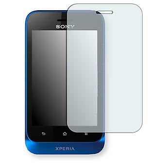 Sony Xperia ST21 display protector - Golebo crystal clear protection film