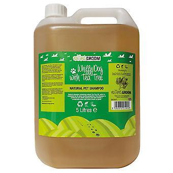 Natures Groom Whiffy Dog With Tea Tree Shampoo 5L