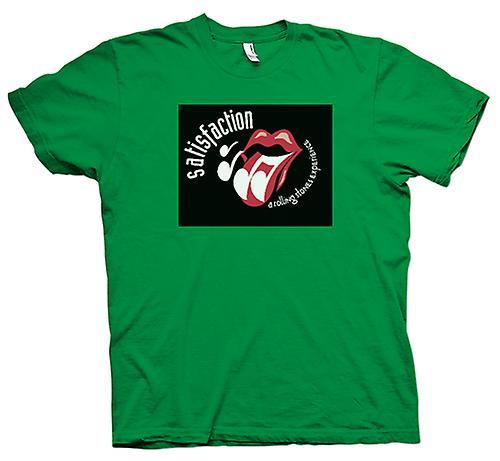Herr T-shirt - Rolling Stones upplevelse - tillfredsställelse