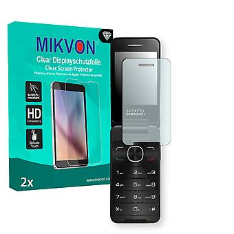 Alcatel OneTouch 20.12D Screen Protector - Mikvon Clear (Retail Package with accessories)