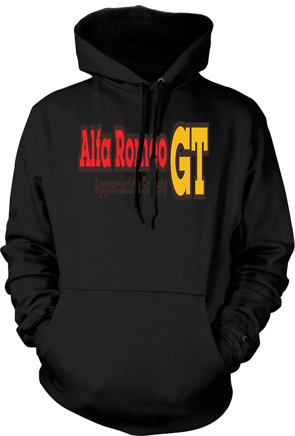 Mens Hoodie - Alfa Romeo GT Appreciation Society