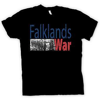 Mens T-shirt - Falklands War - Marines Para