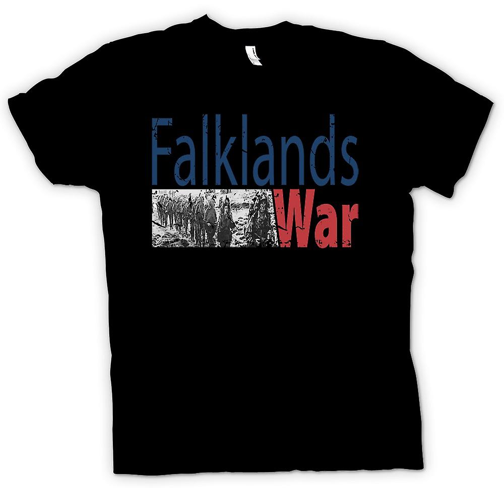 Mens T-shirt - Falklands War - Marines Para