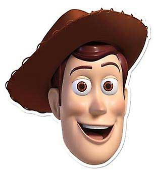 Woody Karte Face Mask (Toy Story)