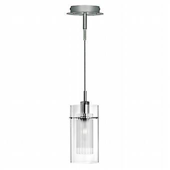 Searchlight 2301 Duo I, 1 Light Ceiling Pendant