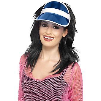 Poker visor blue Poker Hat Poker Hat Casino Hat