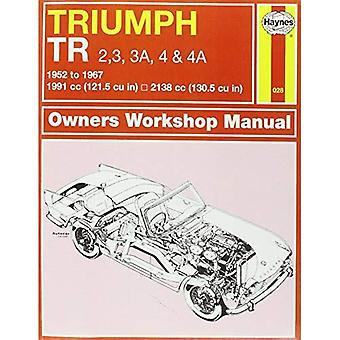 Triumph TR2/3/4 Owner's Workshop Manual (Haynes Service and Repair Manuals)