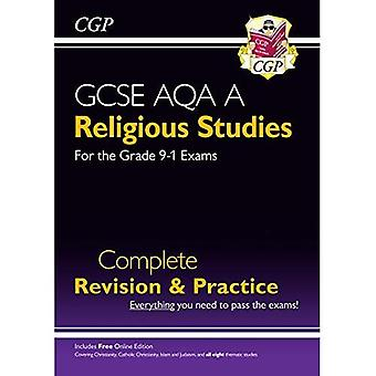 New Grade 9-1 GCSE Religious Studies: AQA A Complete Revision & Practice with Online Edition