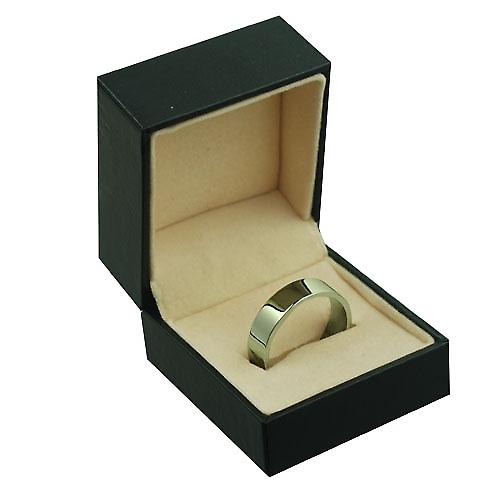 Palladium 6mm plain flat Wedding Ring Size Z