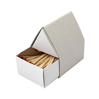 House Shaped Matchboxes with Real Matches and Strikes | Papier Mache Shapes
