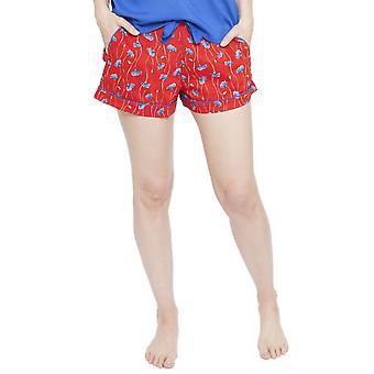 Cyberjammies 4131 kobiet Mia Red kwiatowy wydruku Piżama Krótki