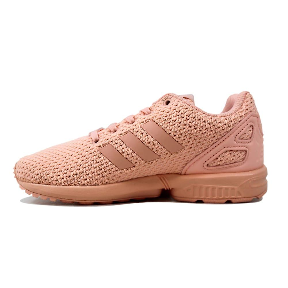 50% off factory outlets arrives Adidas ZX Flux Hazel Coral BB2431 Pre-School