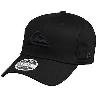 Quiksilver Mens Mountain och Wave ny Era Hat - svart
