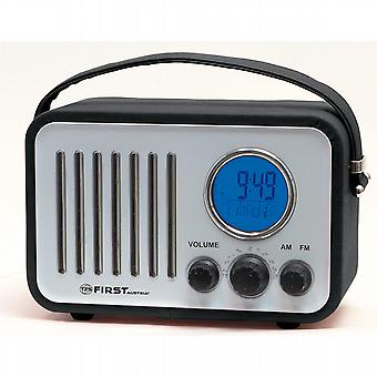 Design with AM/FM alarm clock radio.