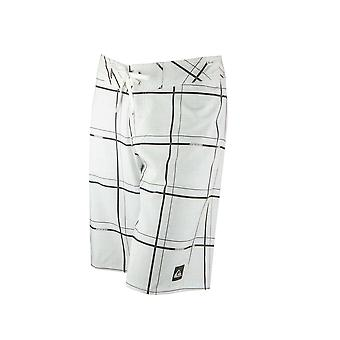 Quiksilver Mens Electric Stretch 21 Boardshorts - White/Black