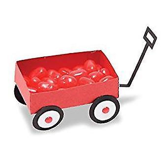 Kleine rode Wagon geëtst Spellbinders sterven Shapeabilities (S4-785)