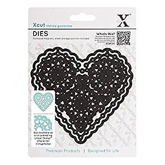 Xcut Dies - Vintage Notes - Filigree Heart (XCU 503149)