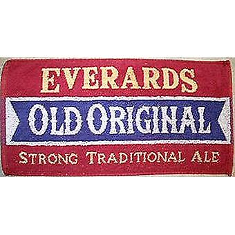 Everards Old Original Cotton Bar Towel   525mm x 250mm   (pp)