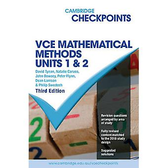 Cambridge Checkpoints VCE Mathematical Methods Units 1 and 2 (3rd Rev