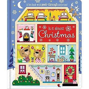 Board Book Is It Almost Christmas? by Make Believe Ideas Ltd - 978178