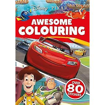 PIXAR - Awesome Colouring by  - 9781788106450 Book