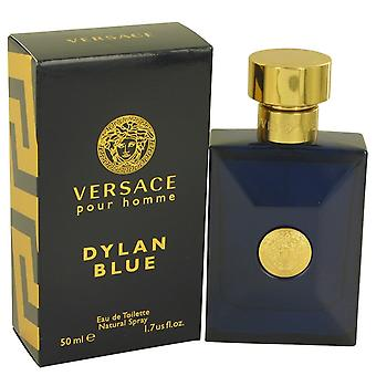 Versace Pour Homme Dylan Blue by Versace Eau De Toilette Spray 1.7 oz / 50 ml (Men)