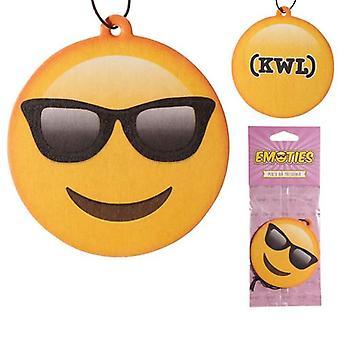 Cool Dude Emoji Car Air Freshener