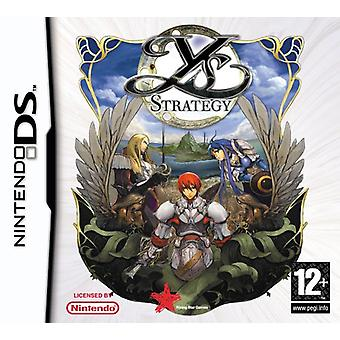 Ys Strategy (Nintendo DS) - Factory Sealed