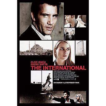 Kansainvälinen alkuperäinen elokuva juliste