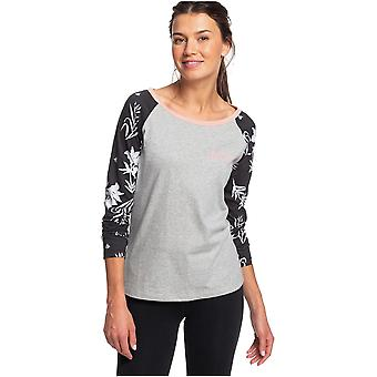 Roxy Before I Go T-Shirt in Heritage Heather