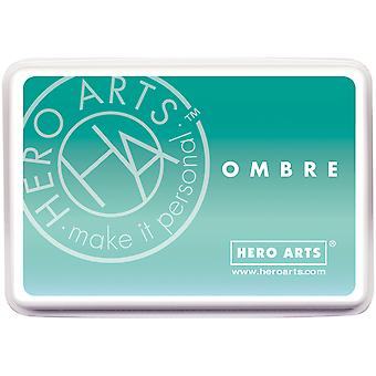 Hero Arts Ombre Ink Pad-Mint To Green OMBRE-AF310