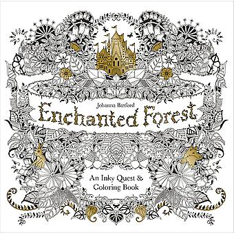 Chronicle Books-Enchanted Forest Coloring Book CH-67488