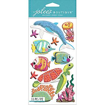 Jolee's Boutique Dimensional Stickers Felt Sealife E5050641