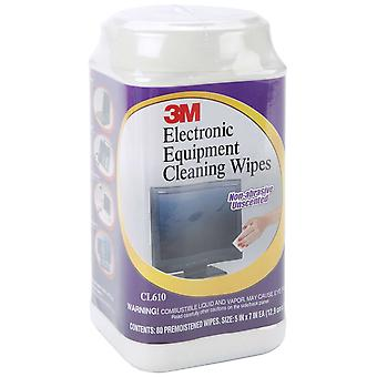 Electronic Equipment Cleaning Wipes 80 Pkg Cl610