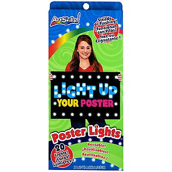 Reusable Poster Lights 20 Pkg Pa1236