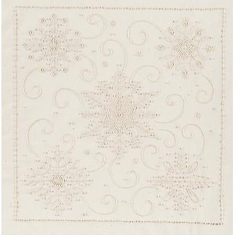 Flocons de neige Candlewicking broderie Kit 11 « X 14 » 21 1362