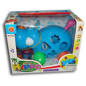 WinFun Drag Hippo Musical Forms (Babies , Toys , Puzzles)